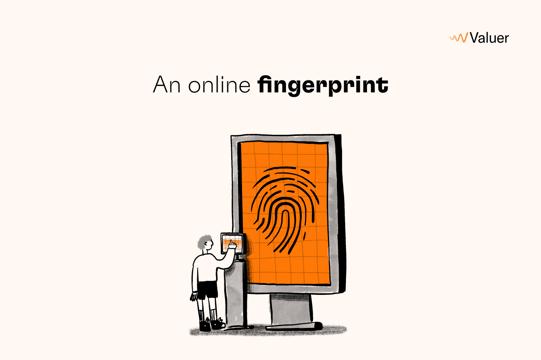 An online fingerprint