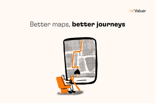 Better maps, better journeys
