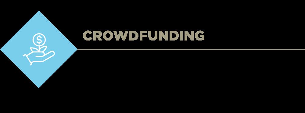 Crowdfunding description banner