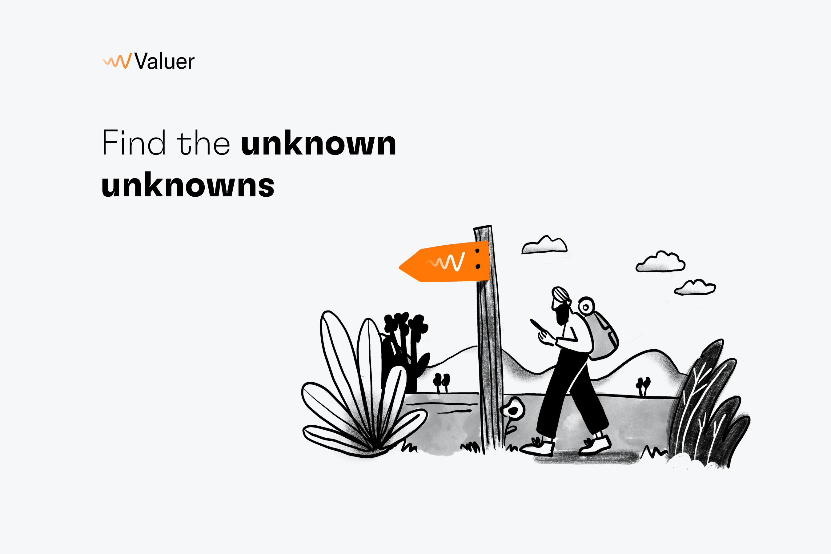 Find the unknown unknowns