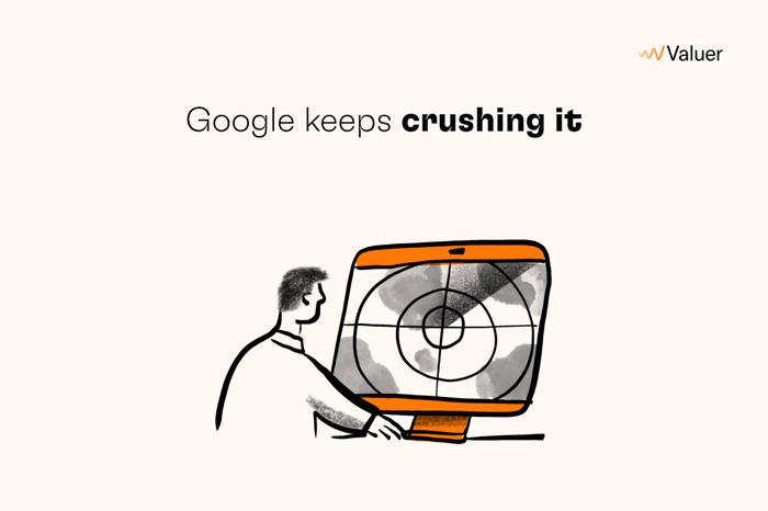 Google keeps crushing it