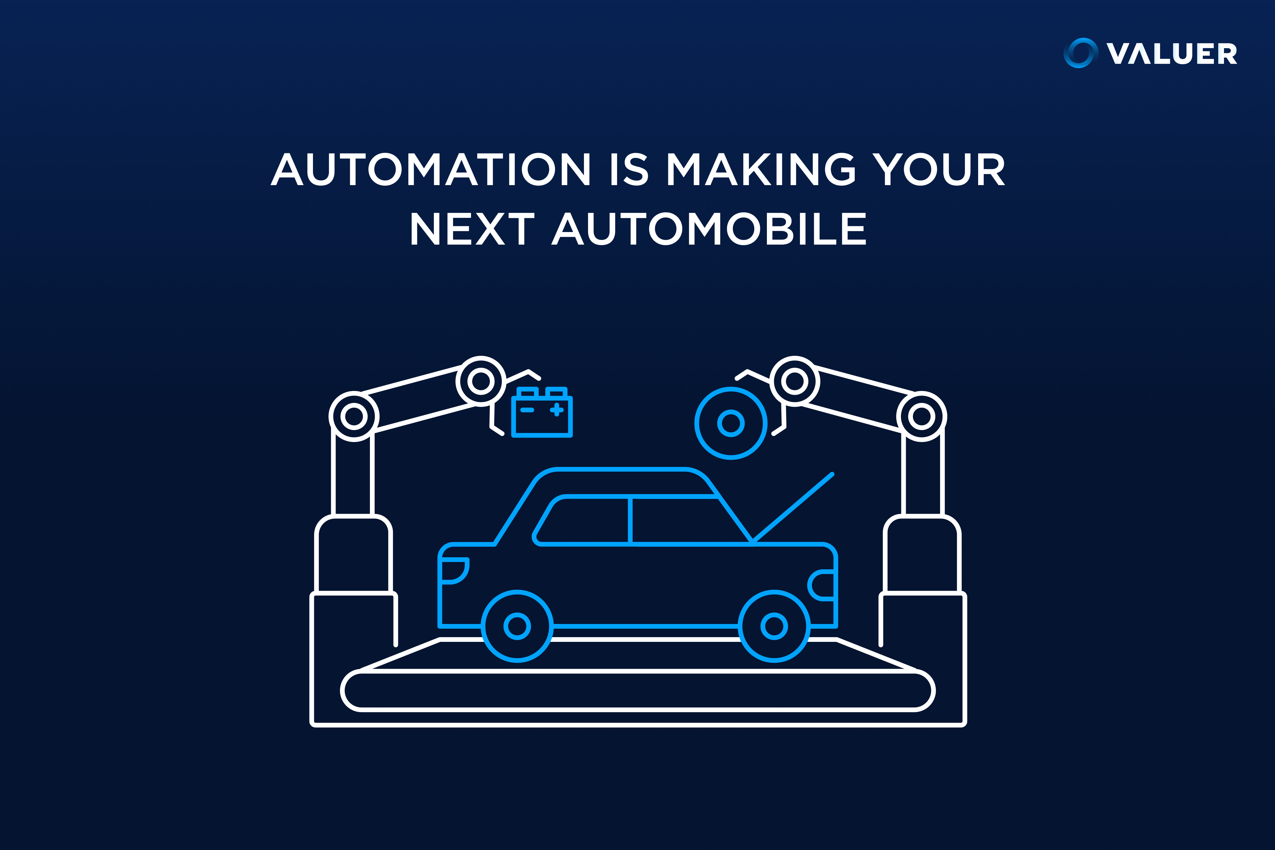 automation making a car
