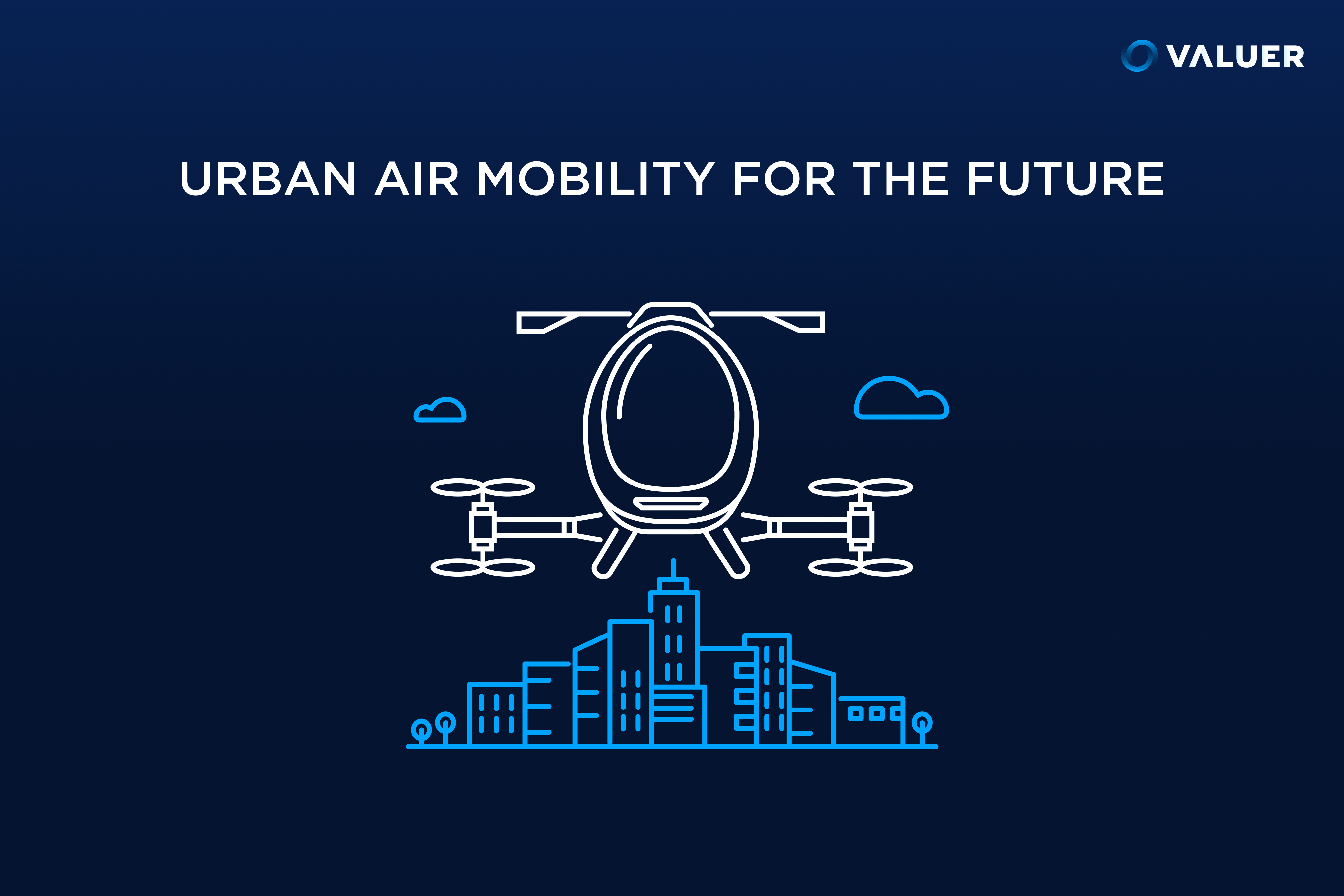 urban air mobility in a city