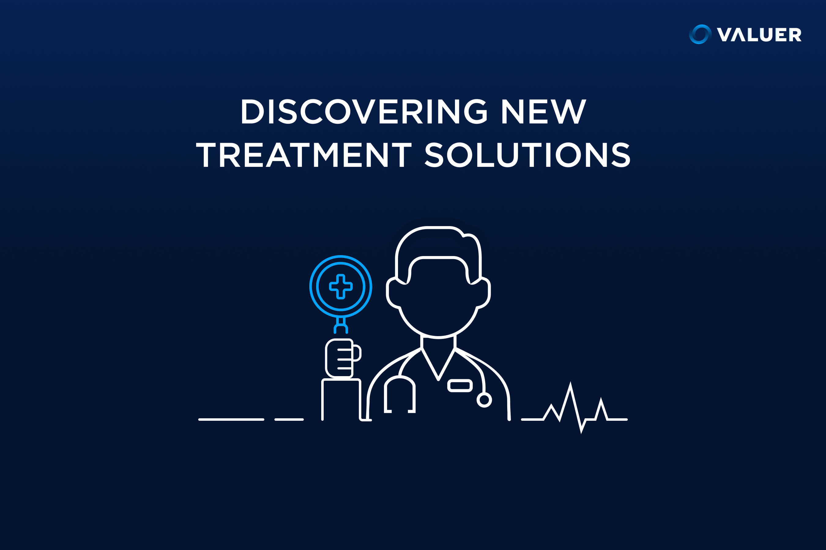 discovering new treatment solutions with image of doctor