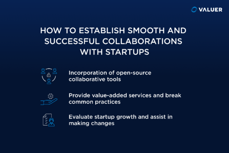 3 ways to establish a smooth and successful collaboration with startups