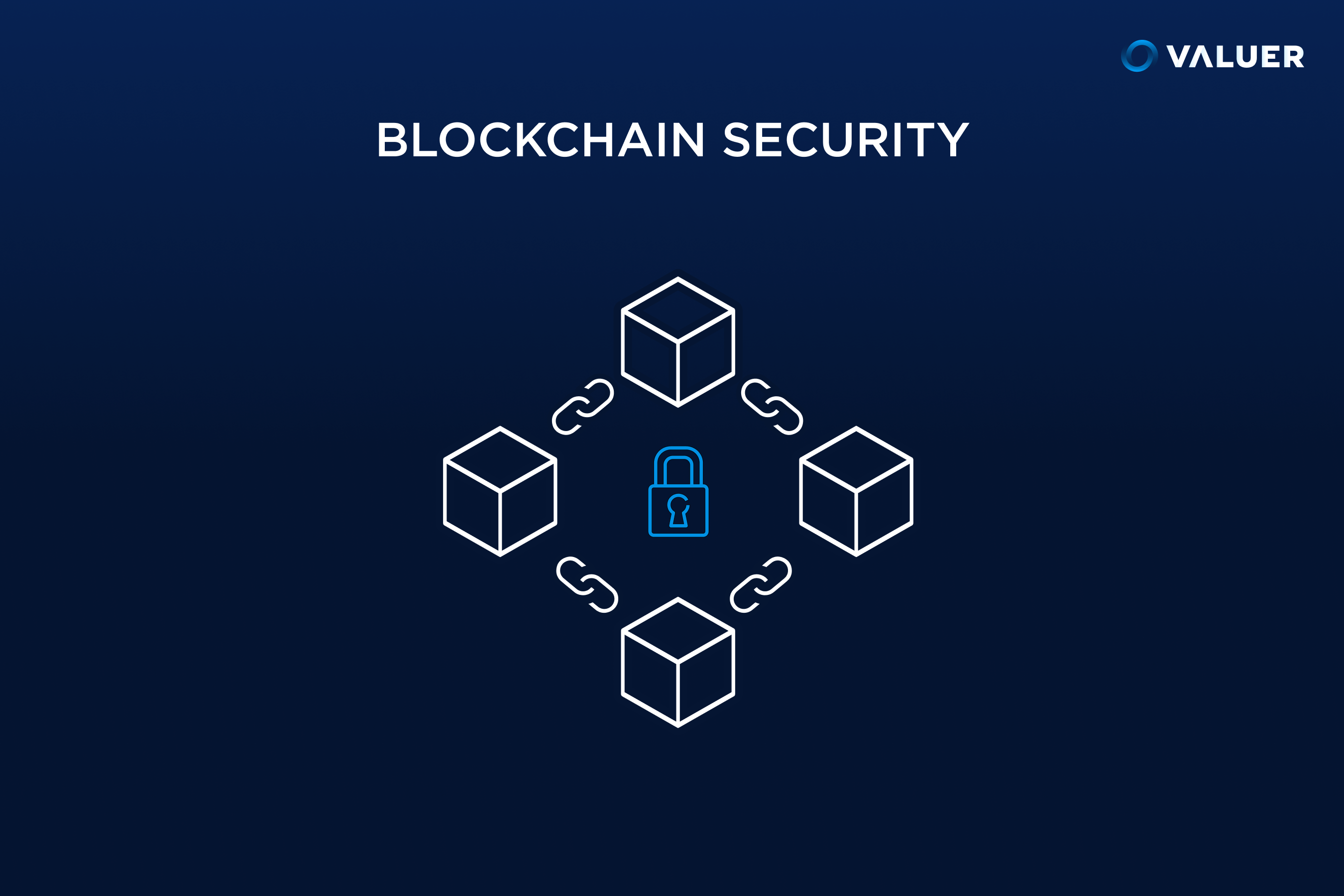 blockchain security with image of blockchain