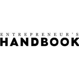 black letters on a white backgorund entreprenuer's logo