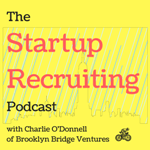 the startup recruiting podcast logo