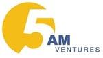 5AM Ventures logo yellow