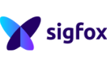 purple purples letters saying sigfox with logo next to it