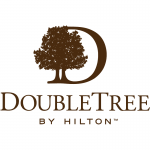 double tree logo tree and text