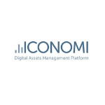 Iconomi logo Digital assets platform management