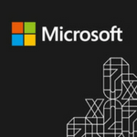 Microsoft flux black small logo graphic