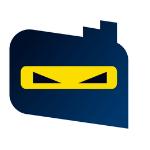 Ninja lender logo ninja black yellow