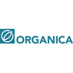 organica water logo with white background