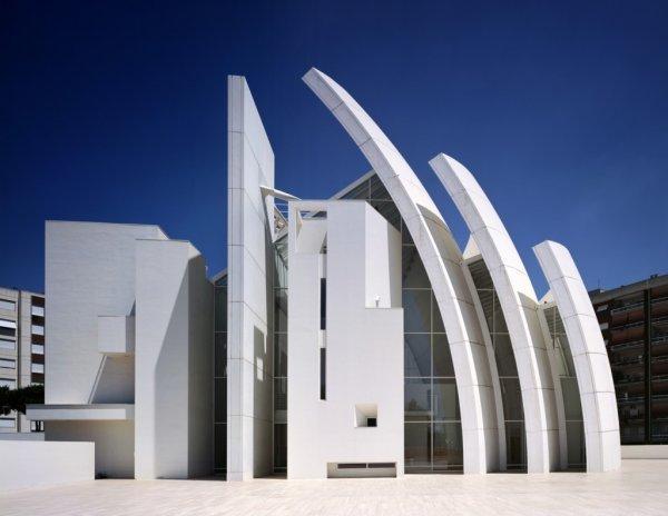 Jubilee Church Rome_Nanotechnology Construction