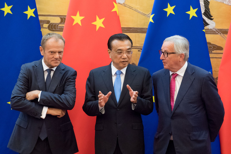 Participation of Jean-Claude Juncker, President of the EC at the 20th China EU Summit