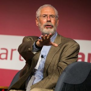 Influencer Steve Blank talking to an audience