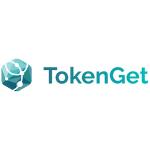 TokenGet logo green prism