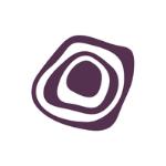 Trine logo purple symbol