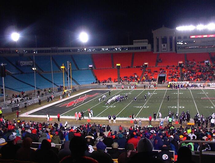 xfl picture from the station during a game