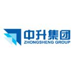 Zhongsheng Group logo blue and white background