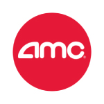 AMC Theatres logo red circle with white text