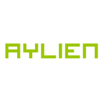 aylien logo green with white background