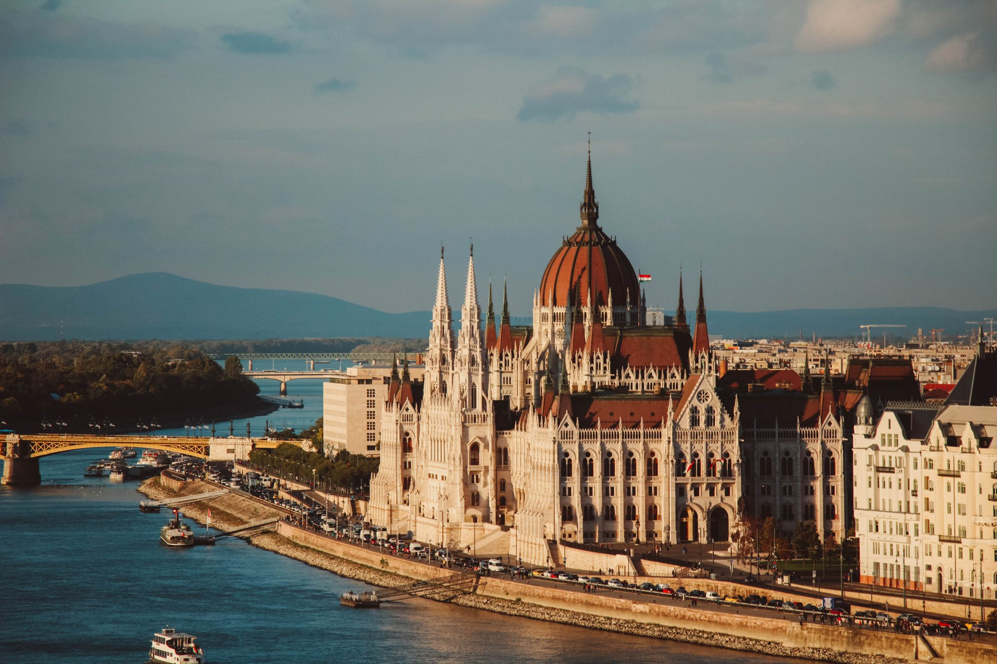 Budapest, Hungary city with river