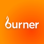 orange burner fitness logo