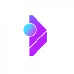purple, circle