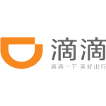 didi logo orange shape and black chinese characters