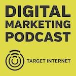digital marketing podcast logo