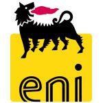 eni logo black and yellow