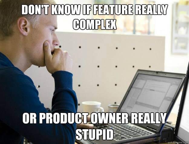Product complex meme
