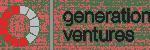 Generation ventures red grey logo