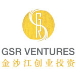gsr ventures logo white background yellow circle and text