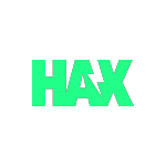 hax logo green with white background
