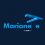 Marionette Studio, blue, light blue