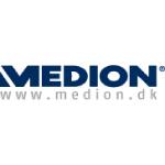 medion logo dark blue text