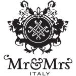 Mr&Mrs Italy logo black and white