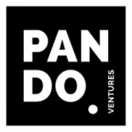 white letters pando letters white dot