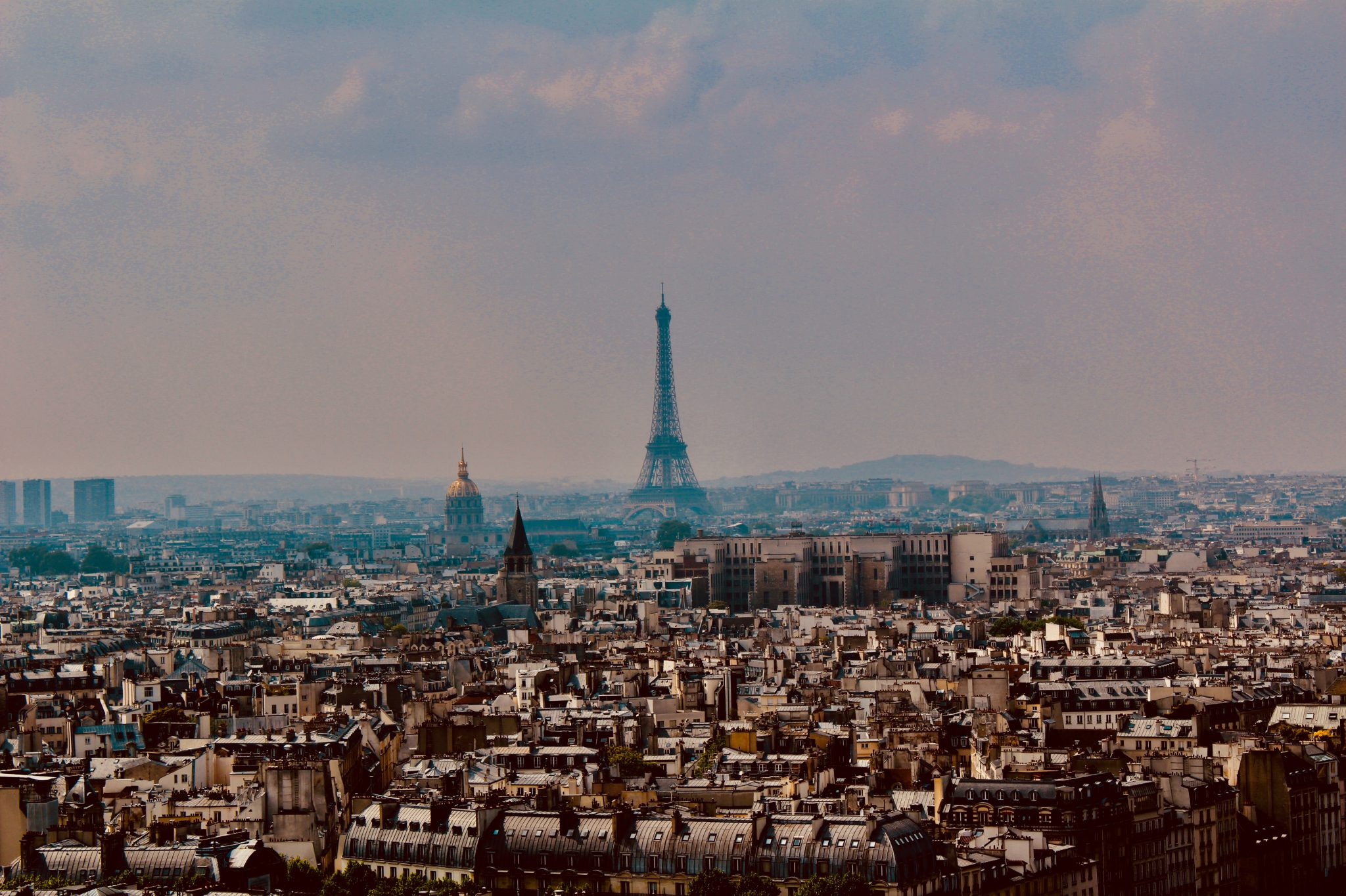 Paris, France city with Eiffel tower