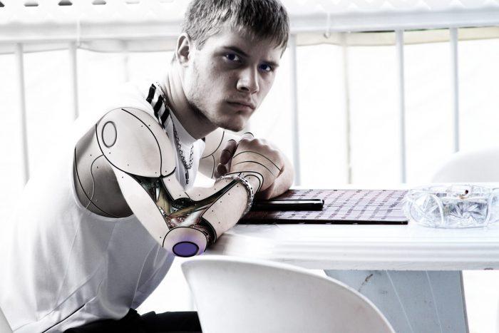 robot guy pixel