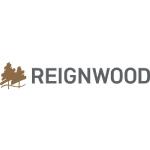 reignwood logo trees shape and grey text