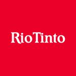 riotinto logo white text red with white background