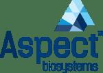 Aspect biosystems logo blue