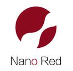 nanored logo red white