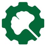 Gingoko Bioworks green gear logo