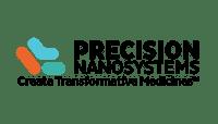 Precision nanosystems medicines blue orange green logo
